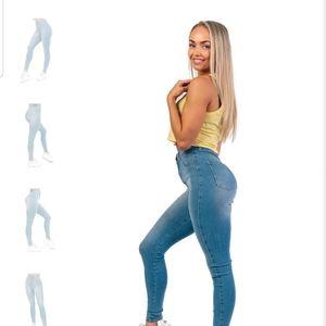 FitJeans 360 artic blue